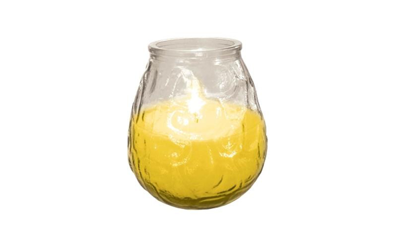 Κερί Σιτρονέλλας σε γυαλί 200γρ, 74-citro – Wow Your Style