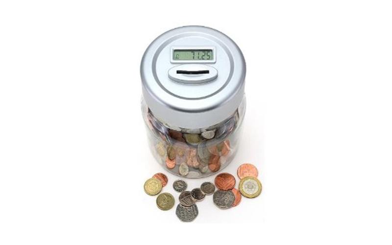 Κουμπαράς καταμετρητής κερμάτων ευρώ με Ψηφιακό Μηχανισμό Μέτρησης - Eddy Toys