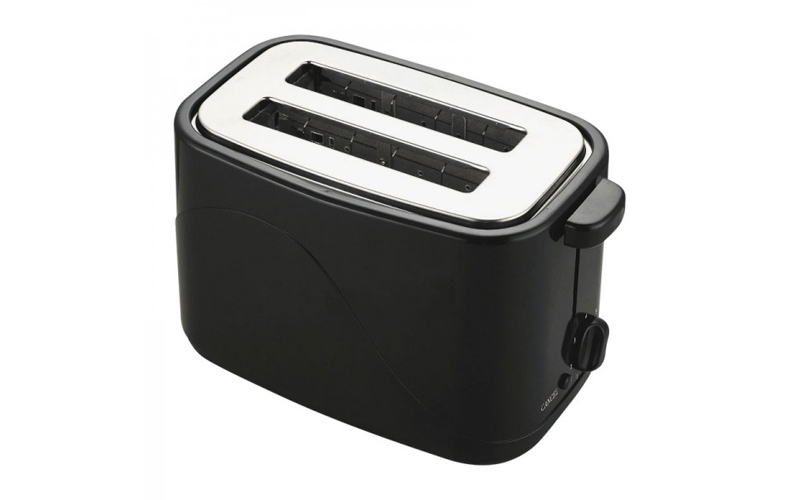 Ανοξείδωτη Αυτόματη Φρυγανιέρα 700W με 7 Επίπεδα Ψησίματος σε Μαύρο χρώμα, Cook  μικροσυσκευές   φρυγανιέρες
