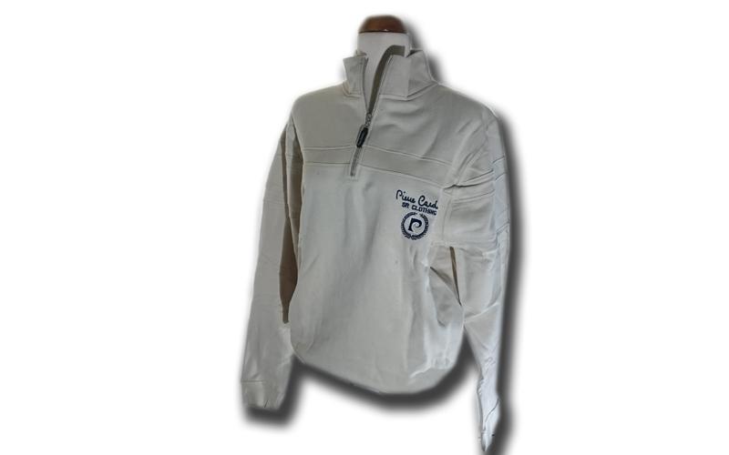 Ανδρική Ζακέτα Pierre Cardin σε Grey Χρώμα με λογότυπο στο στήθος και φερμουάρ,  ανδρική ένδυση   ανδρικά φούτερ πουλόβερ και μπουφάν