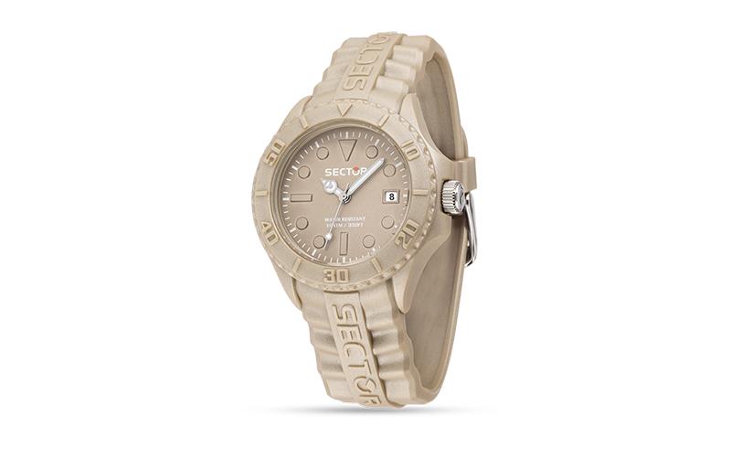 Sector R3251580009 Ρολόι Sport Αντρικό, ελβετικός μηχανισμός Quartz σε Brown Mat ρολόγια χειρός   ανδρικά ρολόγια χειρός