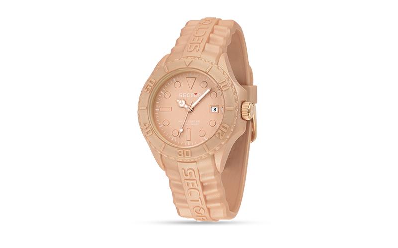 Sector R3251580011 Ρολόι Sport Αντρικό, ελβετικός μηχανισμός Quartz σε Rose Gold ρολόγια χειρός   ανδρικά ρολόγια χειρός