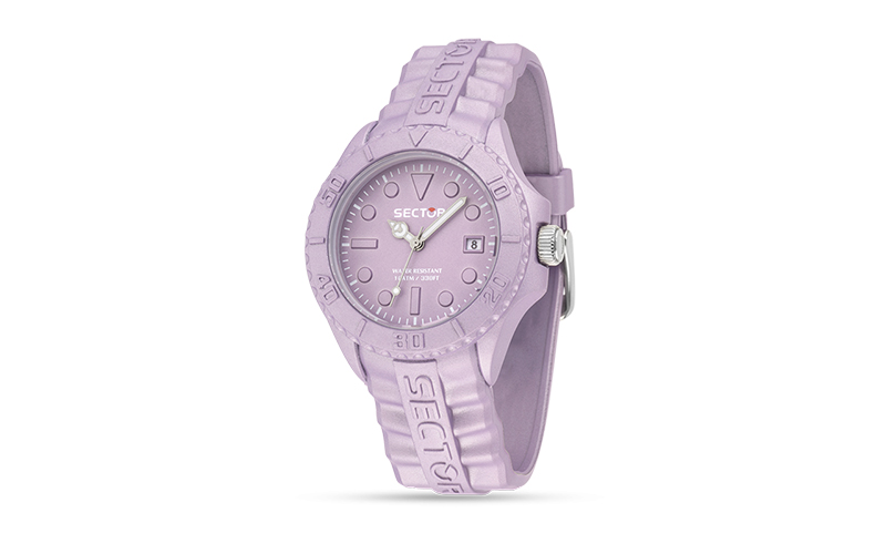 Sector R3251580012 Ρολόι Sport Γυναικείο, ελβετικός μηχανισμός Quartz σε Lilac M ρολόγια χειρός   ανδρικά ρολόγια χειρός