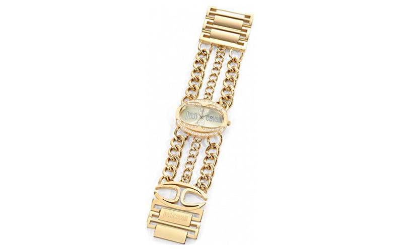 Γυναικείο Ρολόι Trinity Gold Steel Bracelet, Just Cavalli R7253184501 - Just Cav