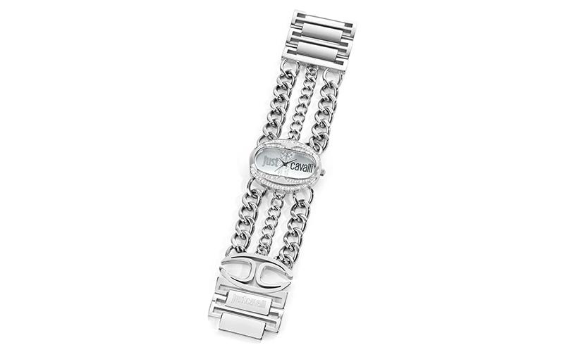 Γυναικείο Ρολόι Trinity Silver Steel Bracelet, Just Cavalli R7253184502 - Just C γυναίκα   ρολόγια