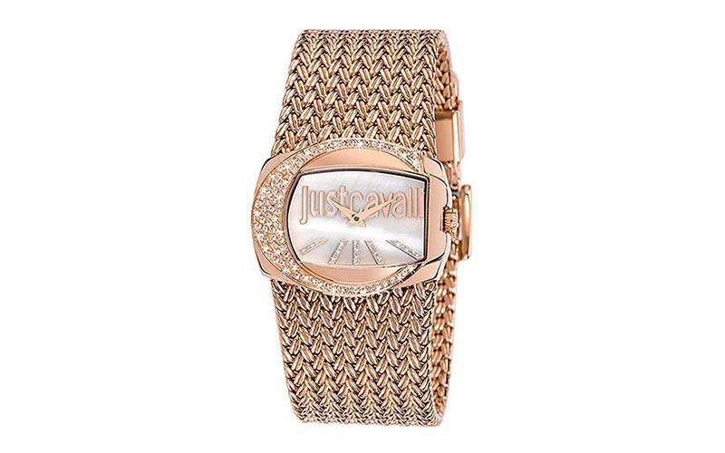 Γυναικείο Ρολόι Rich Crystal Rose Gold Steel Bracelet, Just Cavalli R7253277002  γυναίκα   ρολόγια