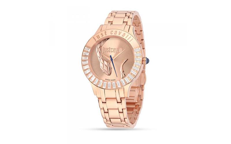 Γυναικείο Ρολόι Luminal Rose Gold Sunray Steel Bracelet, Just Cavalli R725359750 γυναίκα   ρολόγια