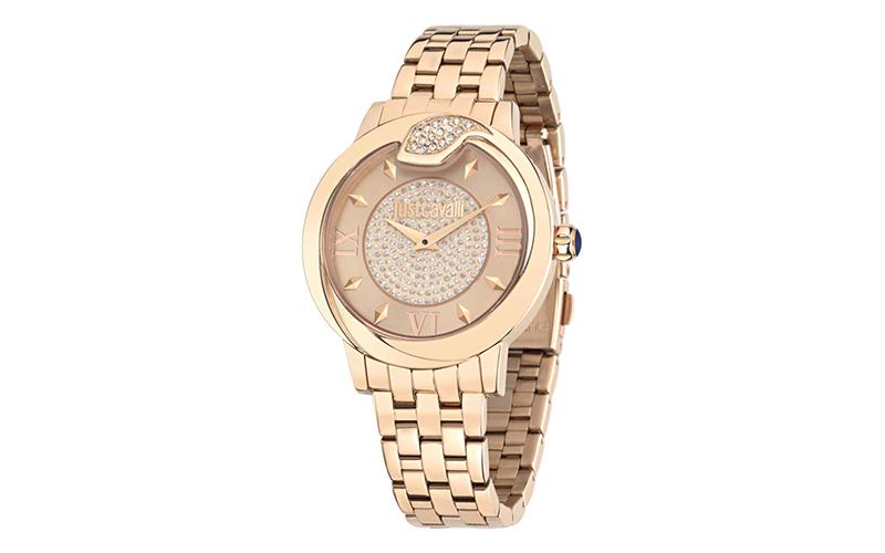 Γυναικείο Ρολόι Spire Rose Gold Sunray Steel Bracelet, Just Cavalli R7253598503  γυναίκα   ρολόγια