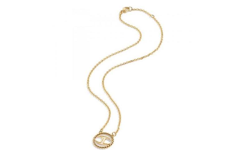 Γυναικείο Κόσμημα Κολιέ 45cm από ανοξείδωτο ατσάλι σε Χρυσό Χρώμα με Χρυσή λεπτο γυναίκα   αξεσουάρ   κόσμημα