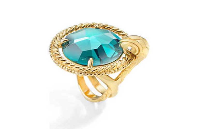 Just Cavalli Γυναικείο Κόσμημα Δαχτυλίδι από ανοξείδωτο ατσάλι σε Χρυσό Χρώμα με γυναικεία αξεσουάρ και κοσμήματα   γυναικεία δαχτυλίδια