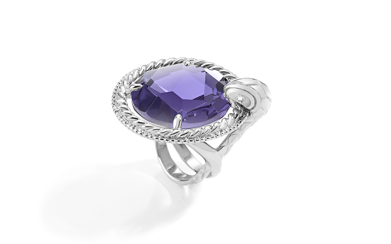 Just Cavalli Γυναικείο Κόσμημα Δαχτυλίδι από ανοξείδωτο ατσάλι σε Ασημένιο Χρώμα γυναικεία αξεσουάρ και κοσμήματα   γυναικεία δαχτυλίδια