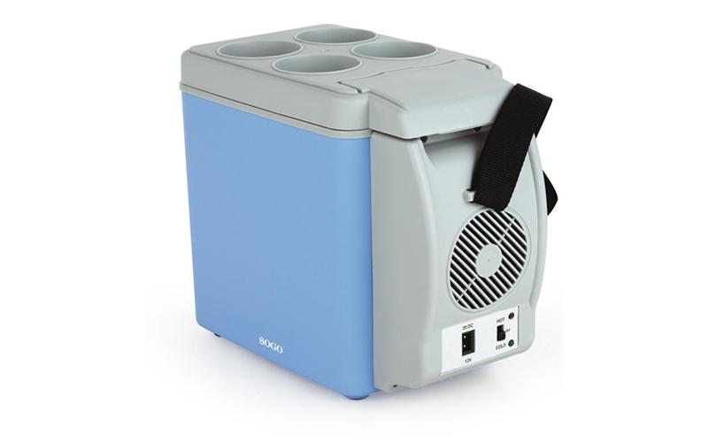 SOGO Mini Φορητό Ψυγείο Αυτοκινήτου 6L 12V /48W με Επιλογή για Ζεστή ή Κρύο, SS-