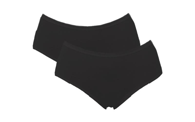 Pierre Cardin Γυναικείο Εσώρουχο Μποξεράκι πακέτο των 2 σε Μαύρο χρώμα, Topazio, είδη ένδυσης και υπόδησης   γυναικεία εσώρουχα