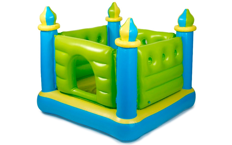 Παιδικό φουσκωτό παιχνίδι πάρκο Κάστρο Jump-o-Lene Castle bouncer, Intex 48257 - παιχνίδια  παιδί  και  βρέφος   έξυπνα   εκπαιδευτικά παιχνίδια