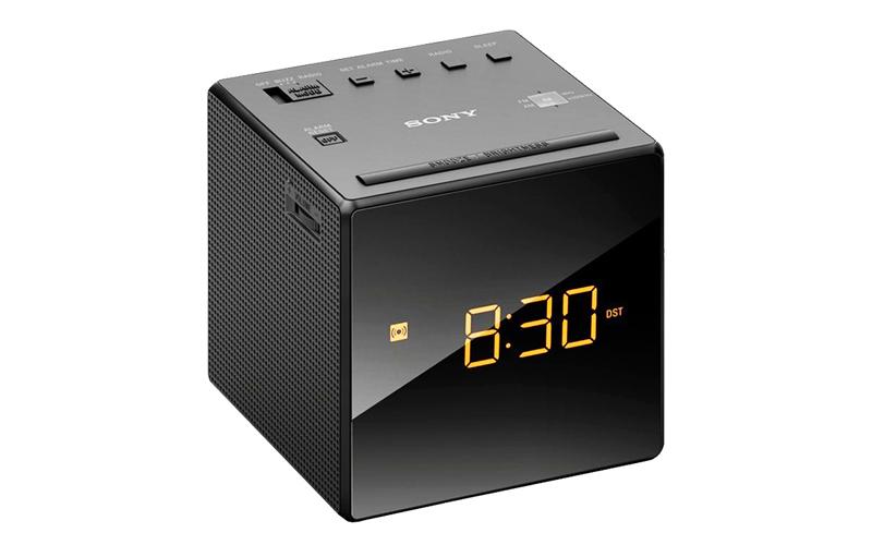 Ραδιοξυπνητήρι με οθόνη καθρέπτη σε χρώμα Μαύρο, Sony ICFC1 - Sony ήχος   ραδιόφωνα ξυπνητήρια