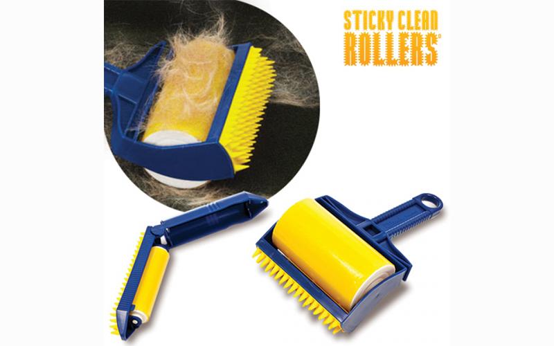 Ρολό Καθαρισμού Χνουδιών 2 τεμαχίων, Sticky Clean Rollers D4500114 - Sticky Clea καθαριότητα και σιδέρωμα   άλλα προϊόντα καθαρισμού