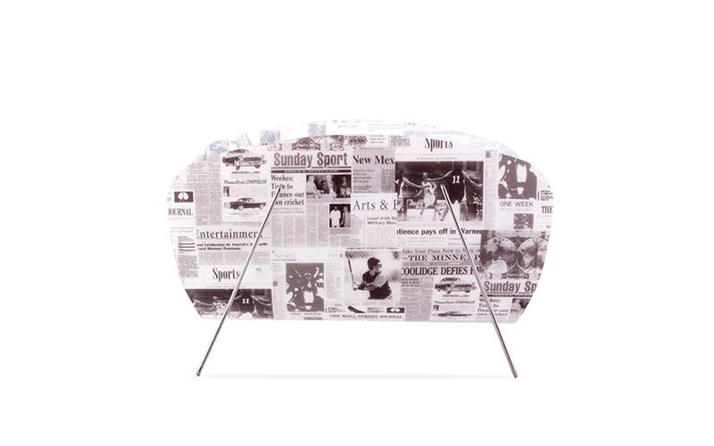 Επιδαπέδια θήκη για περιοδικά και εφημερίδες 45.5x29.5x23cm, Out of the Blue D40 οικιακά είδη   διάφορα είδη για το σπίτι
