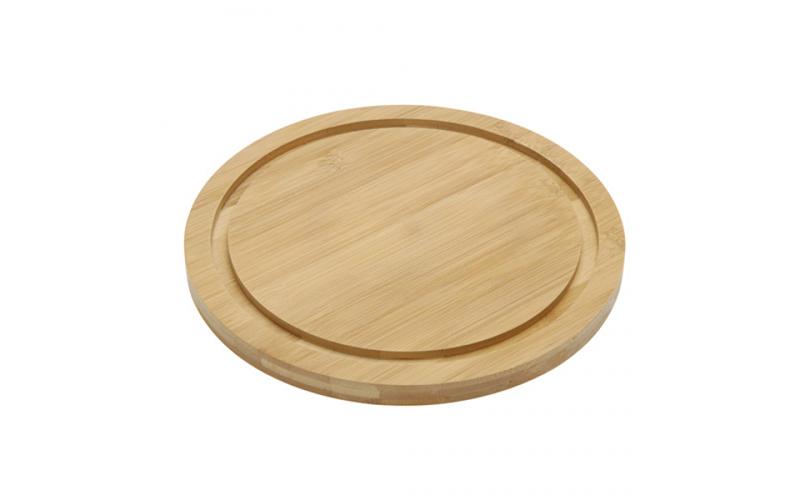 Ξύλινος Δίσκος για τυριά από μπαμπού με 3 αξεσουάρ, TakeTokio B0520170 - TAKETOK σερβίρισμα   δίσκοι  πιατέλες και ορντεβιέρες