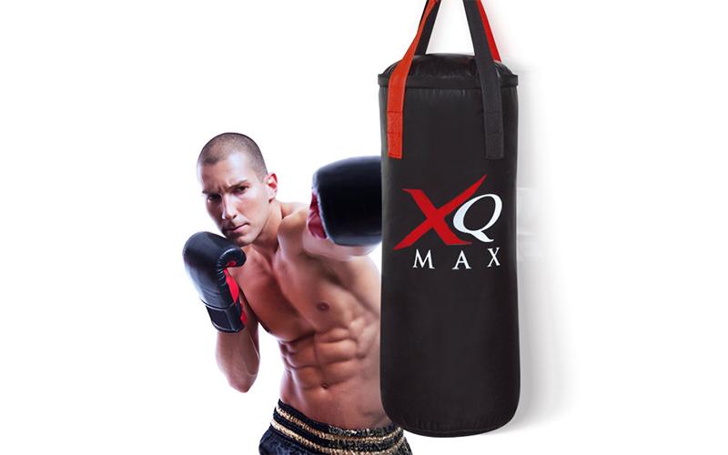 Επαγγελματικός Εξοπλισμός Μποξ 4 τμχ. με Σάκο του Μποξ, Γάντια και Σχοινάκι, XQ  sports   γυμναστική  και  fitness