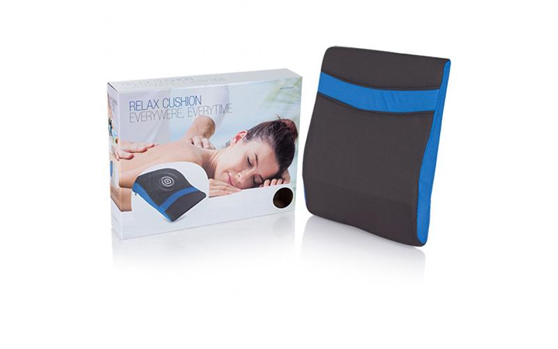 Μαξιλάρι Μασάζ με Ενσωματωμένο Σύστημα Δύο Ταχυτήτων, Relax Cushion F1505125 - R υγεία  και  ομορφιά   μασάζ