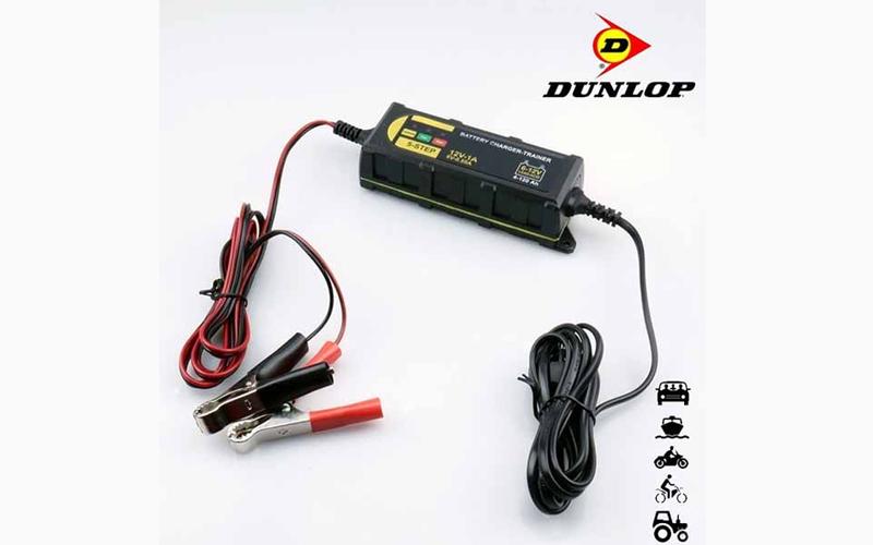 Dunlop Έξυπνος φορτιστής Μπαταρίας Αυτοκινήτου και Μοτοσικλέτας 1Α ~ 12Volt - Du αξεσουάρ αυτ του   επισκευή   συντήρηση   φορτιστές