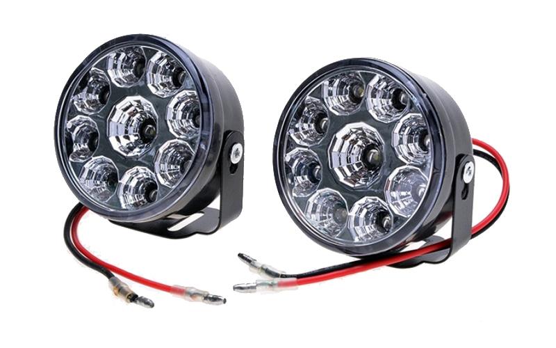 Προβολάκια Ομίχλης Αυτοκινήτου Led 2τμχ. 2x9W με 9 LED το καθένα, R-O90 - OEM αξεσουάρ αυτοκινήτου   λάμπες αυτοκινήτου