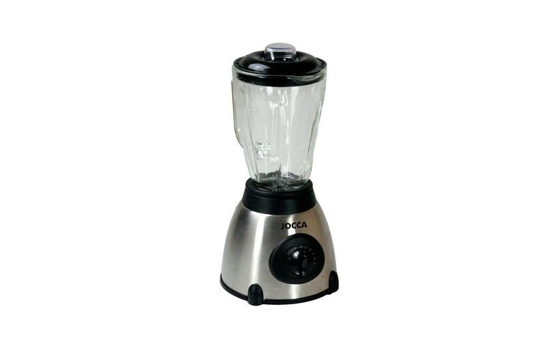 Μπλέντερ με γυάλινη κανάτα smoothie maker 5 Ταχυτήτων 500W, Χωρητικότητας 1L με λεπίδες από Ανοξείδωτο Ατσάλι, Jocca 5586 – JOCCA home & life
