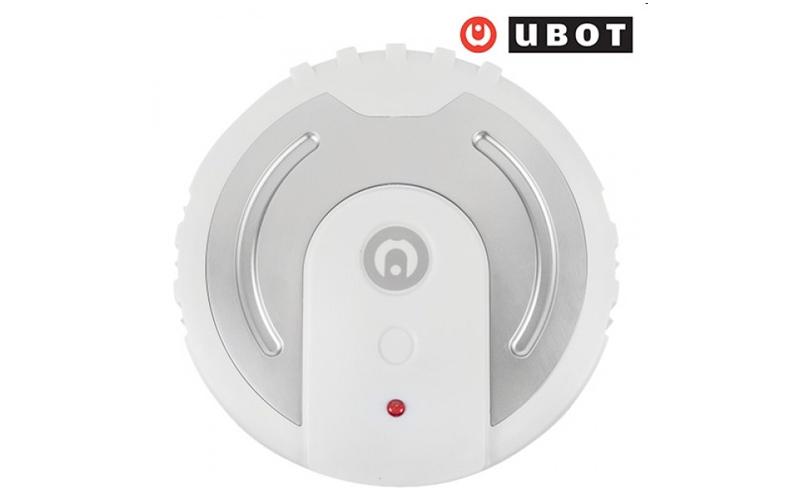 Ubot Σκούπα και Σφουγγαρίστρα Ρομπότ με ανταλλακτικά πανάκια από μικροΐνες σε Λευκό χρώμα – Ubot