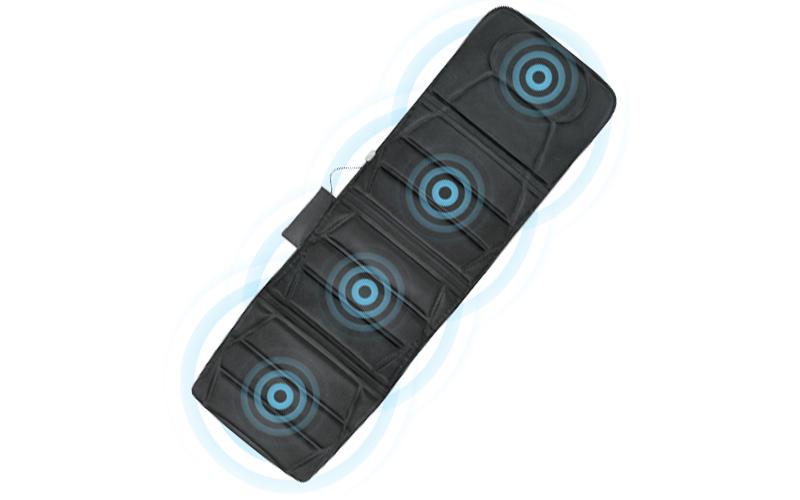 Στρώμα Μασάζ 172 x 57 cm με Επιλογή ανάμεσα σε 5 τύπους Μασάζ και 3 Επίπεδα Έντα ξεκούραση και ευεξία   συσκευές μασάζ