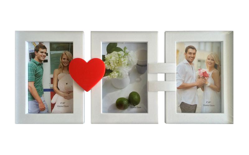 """Συνδυασμός Κορνίζες σε Παραλληλόγραμμο σχήμα 41.5x17cm με θέμα """"Love"""" και Λευκό  διακόσμηση   κορνίζες   πίνακες   καθρέφτες"""