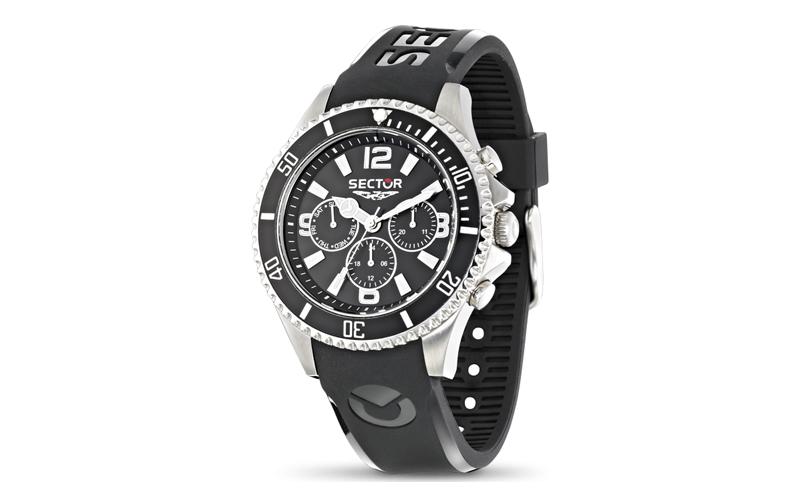 Sector R3251161002 Αντρικό Ρολόι, ελβετικός μηχανισμός Quartz με Λουράκι από Καο ρολόγια χειρός   ανδρικά ρολόγια χειρός