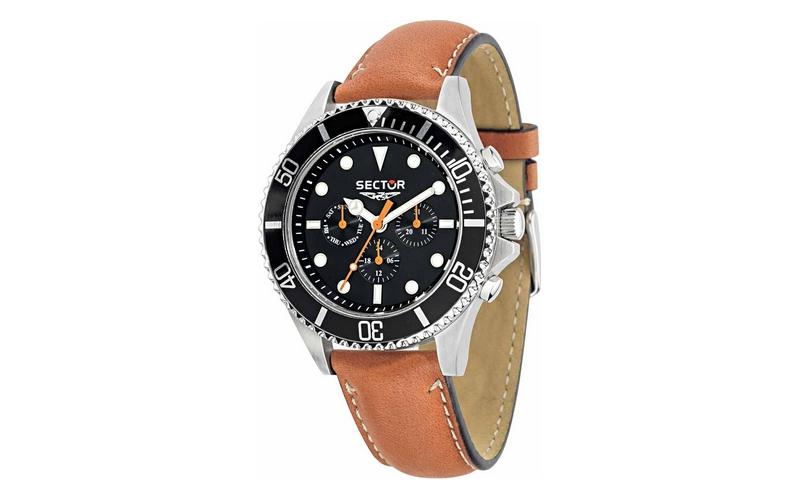 Sector R3251161012 Ανδρικό Ρολόι, ελβετικός μηχανισμός Quartz με Λουράκι από Καο ρολόγια χειρός   ανδρικά ρολόγια χειρός