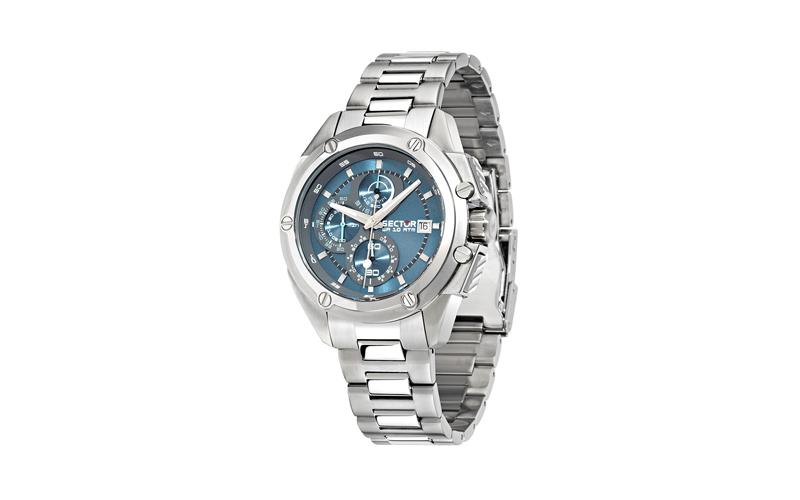 Sector R3273981001 Αντρικό Ρολόι, ελβετικός μηχανισμός Quartz με Bracelet από Αν ρολόγια χειρός   ανδρικά ρολόγια χειρός