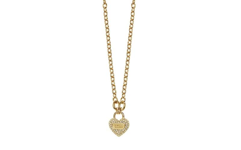 Γυναικείο Κόσμημα Κολιέ 51cm σε σχήμα καρδιάς από Ανοξείδωτο Ατσάλι σε Χρυσό Χρώ γυναίκα   αξεσουάρ   κόσμημα
