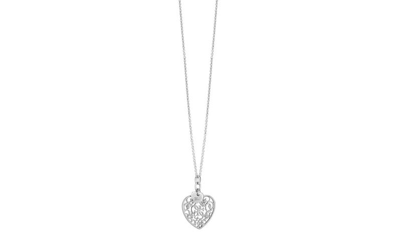 Γυναικείο Κόσμημα Κολιέ 45cm σε σχήμα καρδιάς από Ανοξείδωτο Ατσάλι, της σειράς  γυναίκα   αξεσουάρ   κόσμημα