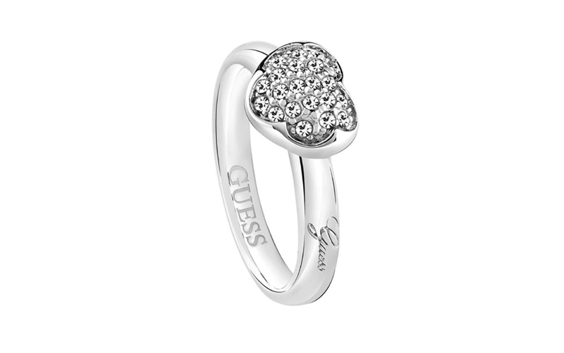 Γυναικείο Κόσμημα Δαχτυλίδι από Ανοξείδωτο Ατσάλι με Κρυσταλλάκια, της σειράς He γυναικεία αξεσουάρ και κοσμήματα   γυναικεία δαχτυλίδια