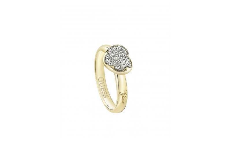 Γυναικείο Κόσμημα Δαχτυλίδι από Ανοξείδωτο Ατσάλι σε Χρυσό χρώμα με Κρυσταλλάκια γυναικεία αξεσουάρ και κοσμήματα   γυναικεία δαχτυλίδια