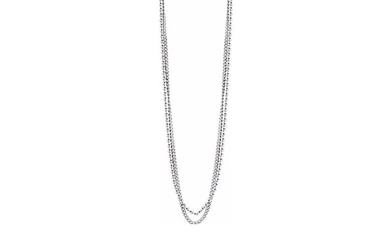 Αντρικό Κόσμημα Κολιέ 57cm από Ανοξείδωτο Ατσάλι και διπλή σειρά χάντρες, Guess  ανδρικά αξεσουάρ και κοσμήματα   ανδρικά κολιέ