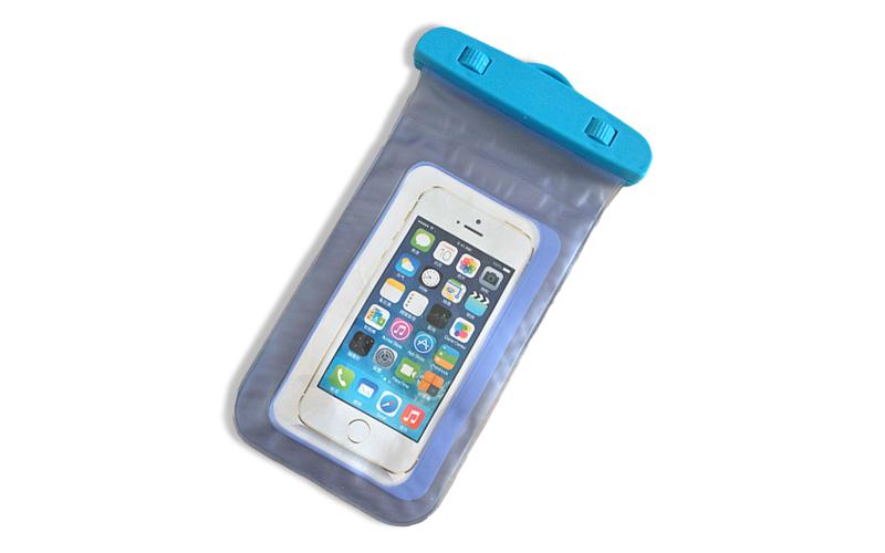 Universal Αδιάβροχη Θήκη XXL για Κινητά Τηλέφωνα και Smartphones Χρώμα Μπλε - OE τηλεφωνία και tablets   θήκες για κινητά τηλέφωνα