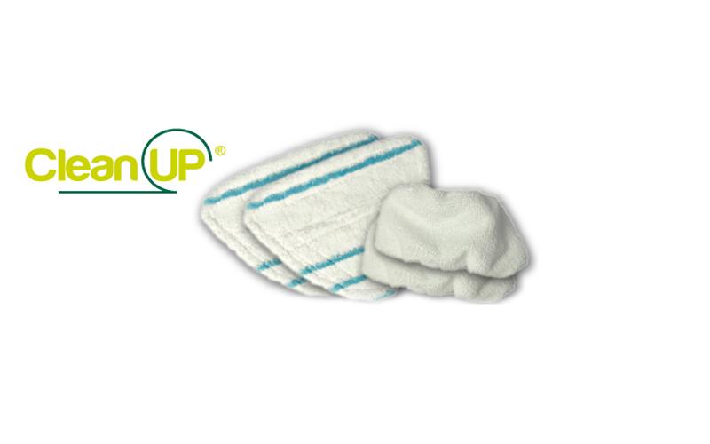 Σετ Ανταλλακτικά Μαντηλάκια με Μικρο-ίνες 4τμχ. για Σφουγγαρίστρα Ατμού 10 σε 1, καθαριότητα και σιδέρωμα   ατμοκαθαριστές
