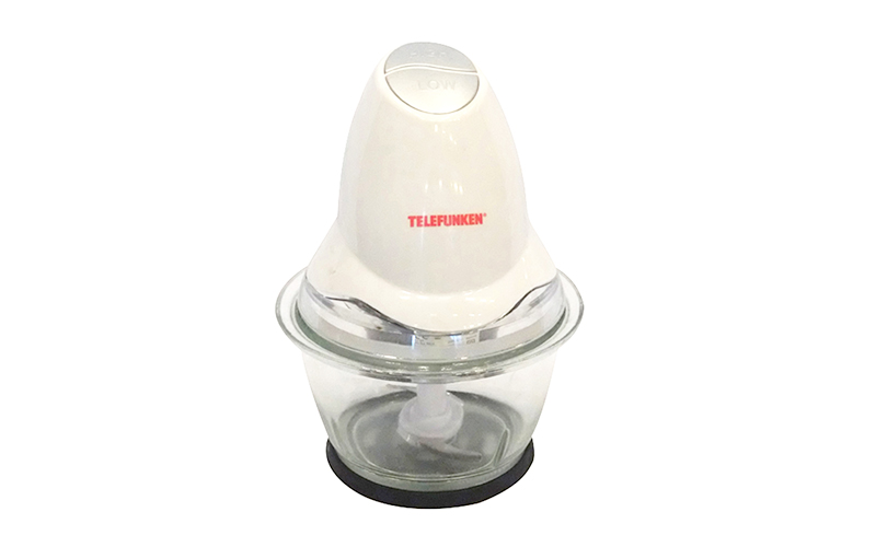 Telefunken Ηλεκτρικός Πολυκόφτης Μπλέντερ 0.3W 2 ταχυτήτων, χωρητικότητας 1L, 22360 – TELEFUNKEN