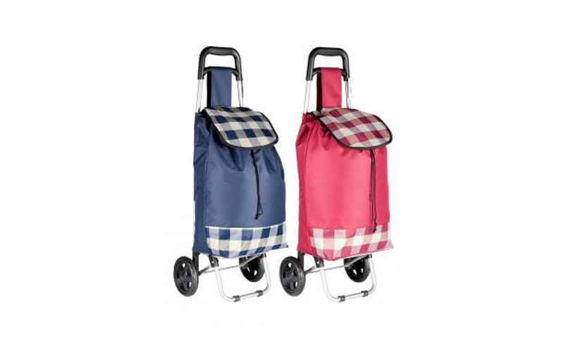 Τσάντα για ψώνια τρόλευ με χερούλι 94x24x34cm, 00652 Μπλε - Cb οικιακά είδη   διάφορα είδη για το σπίτι