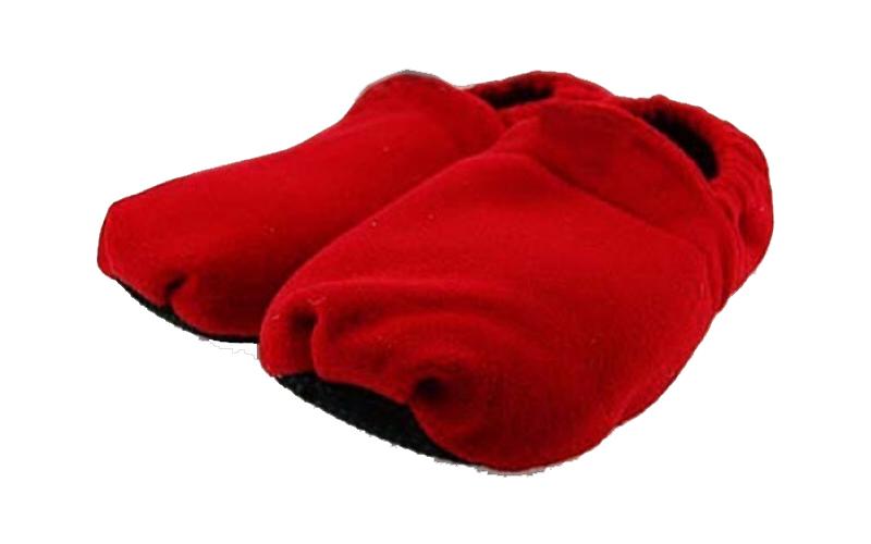 Θερμαινόμενες παντόφλες που μπαίνουν στο φούρνο μικροκυμάτων σε Κόκκινο χρώμα, W άνδρας   υπόδηση