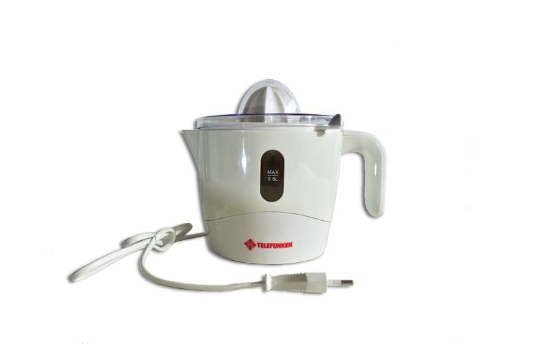 Ηλεκτρικός Αποχυμωτής 500ml 19x19x20cm 25W σε Λευκό χρώμα με 2 κώνους, Telefunke μικροσυσκευές   αποχυμωτές