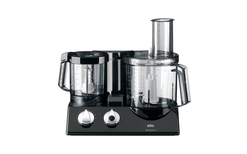 Συμπαγής Κουζινομηχανή-Επεξεργαστής τροφίμων 600W με 2 μπολ-κόφτες χωρητικότητας μικροσυσκευές   μίξερ   μπλέντερ