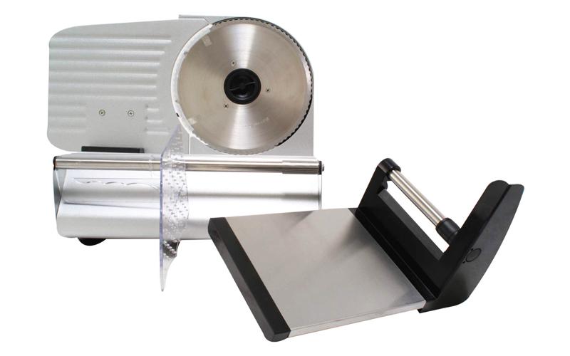 Μεταλλική Μηχανή Κοπής Ψωμιού, Αλλαντικών ή Τυριών 160W από Ανοξείδωτο ατσάλι, π μικροσυσκευές   ηλεκτρικά μαχαίρια