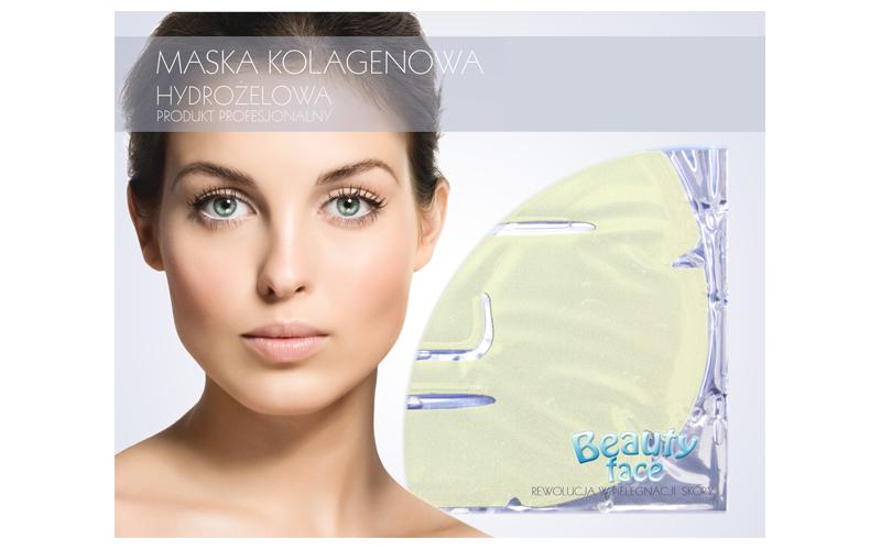 Μάσκα Προσώπου με Κολλαγόνο, Διαμάντι και Χρυσό για Αναδόμηση και Λάμψη (Υδρογέλ υγεία  και  ομορφιά   περιποίηση προσώπου