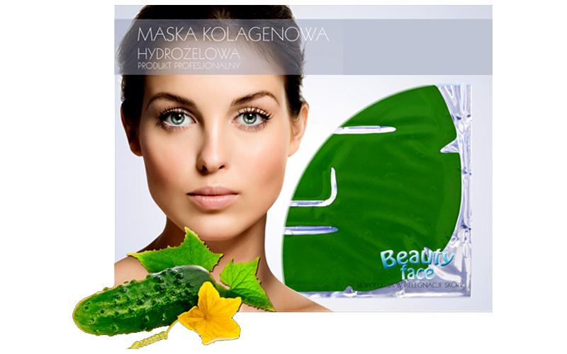 Μάσκα Προσώπου με Κολλαγόνο και Εκχύλισμα Αγγουριού για Αναζωογόνηση και Λεύκανσ υγεία  και  ομορφιά   περιποίηση προσώπου