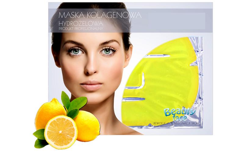 Μάσκα Προσώπου με Κολλαγόνο και Εκχύλισμα Λεμονιού και Λειαντική για Αναζωογόνησ υγεία  και  ομορφιά   περιποίηση προσώπου