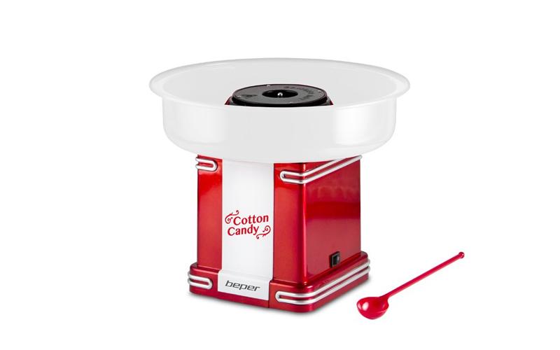 Beper 90.396 Ρετρό Παρασκευαστής για Μαλλί της Γριάς 500W - Retro Candy Cotton M μικροσυσκευές   συσκευές για μαλλί της γριάς